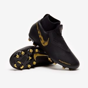 Nike JR Phantom VSN Academy DF FG/MG Black Gold